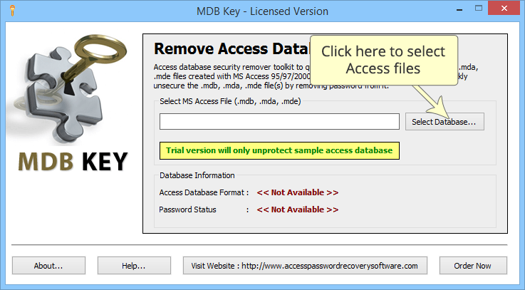 MDB Key Software