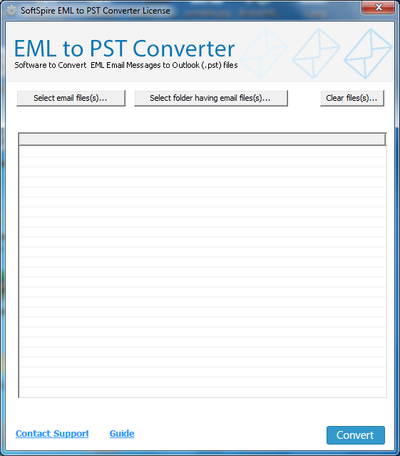 Click to view EML to Outlook 7.0.9 screenshot